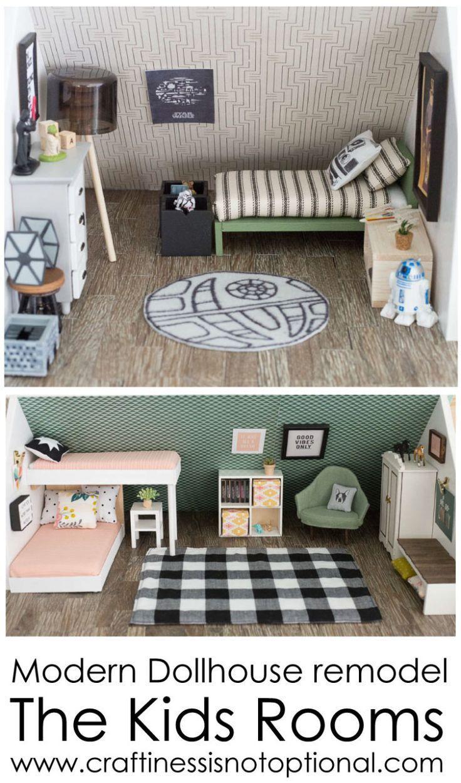 Maison de poupée maternelle en 2020   Meubles maison de poupée, Maison de barbie fait maison ...