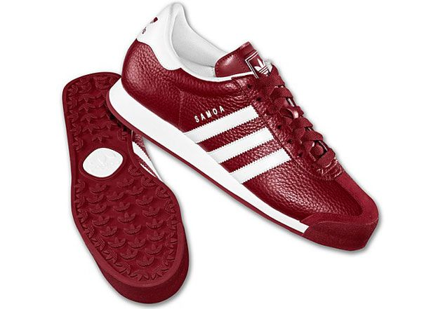 samoa adidas red