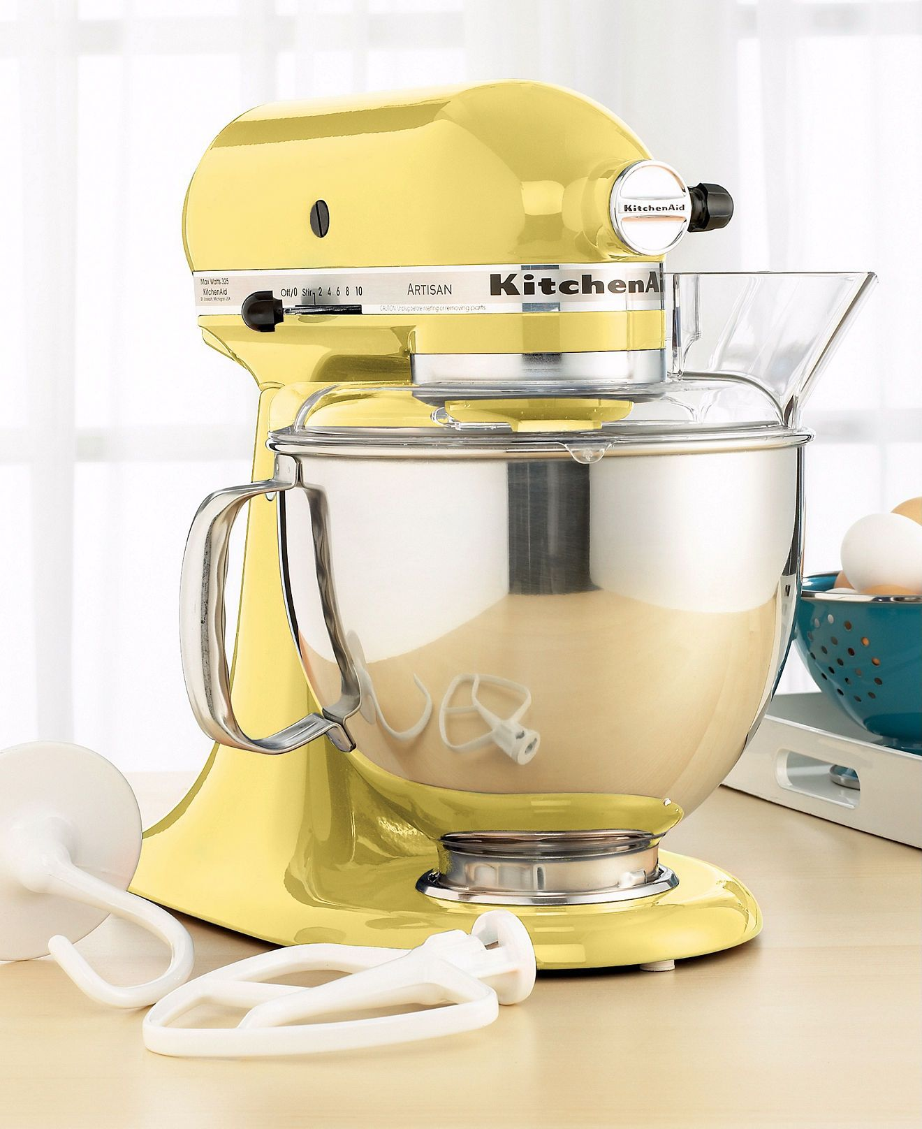 Yellow KitchenAid
