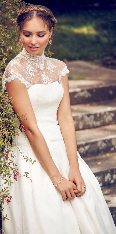 High neck wedding dresses vestidos de novia pinterest wedding