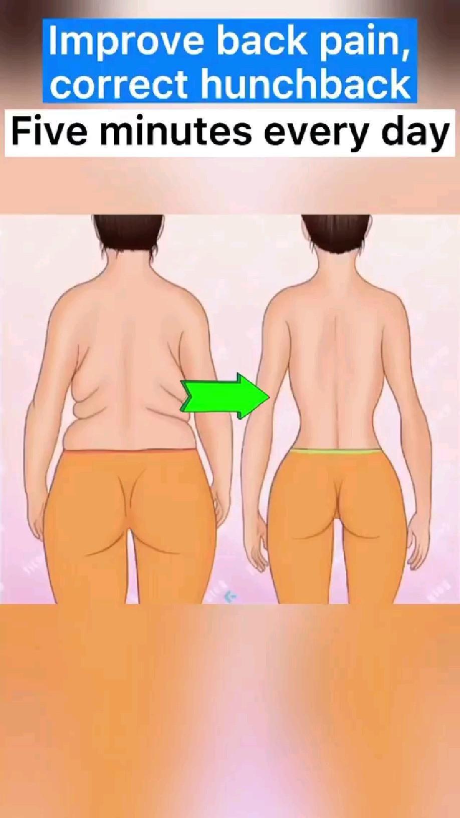 improve back pain, correct hack