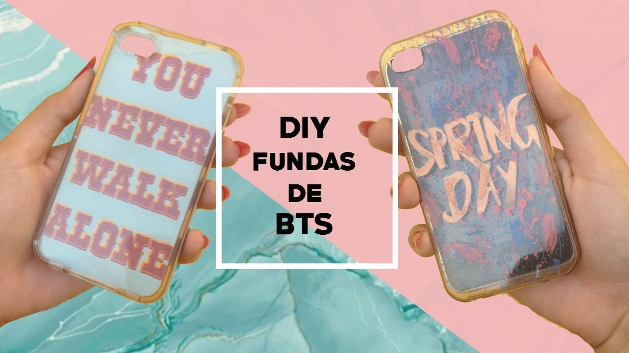 3107272b029 DIY K-POP: Fundas para celular de BTS| YOU NEVER WALK ALONE| Andrea Mald.