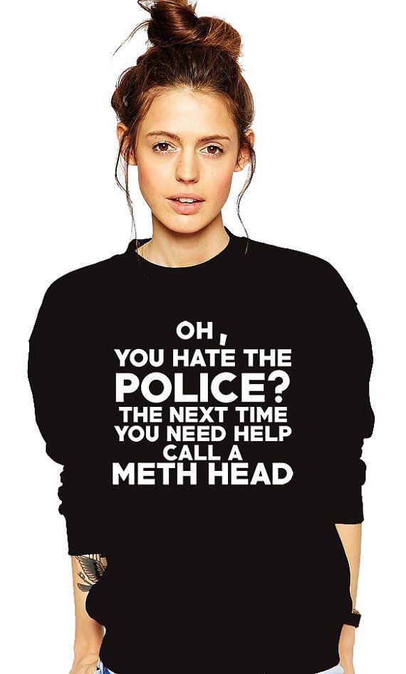 in sweater girl Police