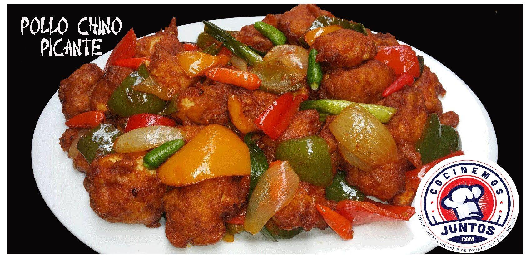Pollo Chino Picante - Comida China | Chinese food / Comida china ...