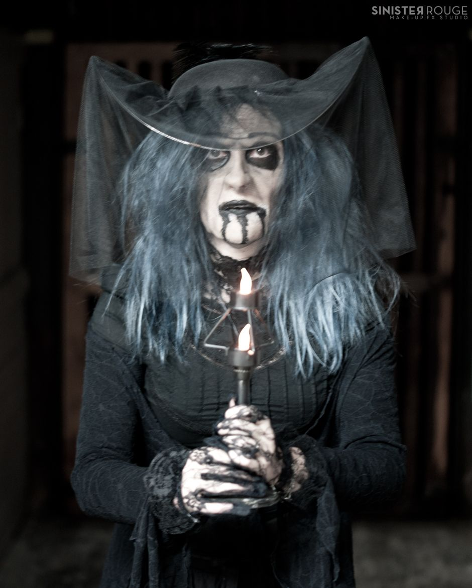 Insidious Witch halloween prosthetic make-up by www ...