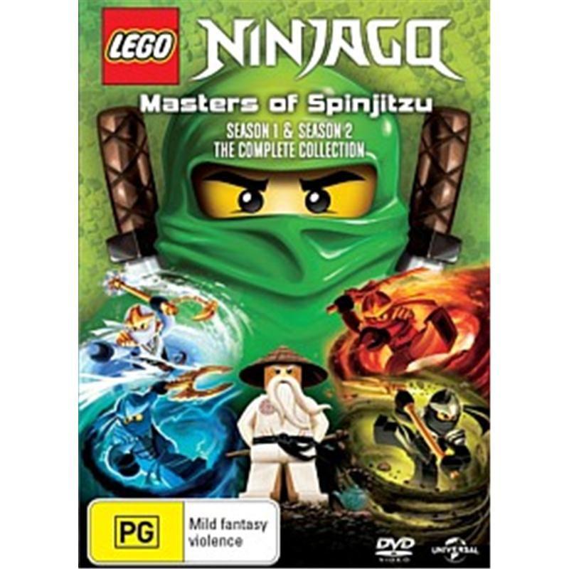 Lego Ninjago: Masters Of Spinjitzu - Season 1 & 2   Bailey's stuff ...