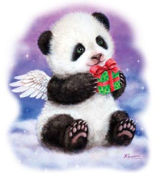 Моя, открытки мишка панда