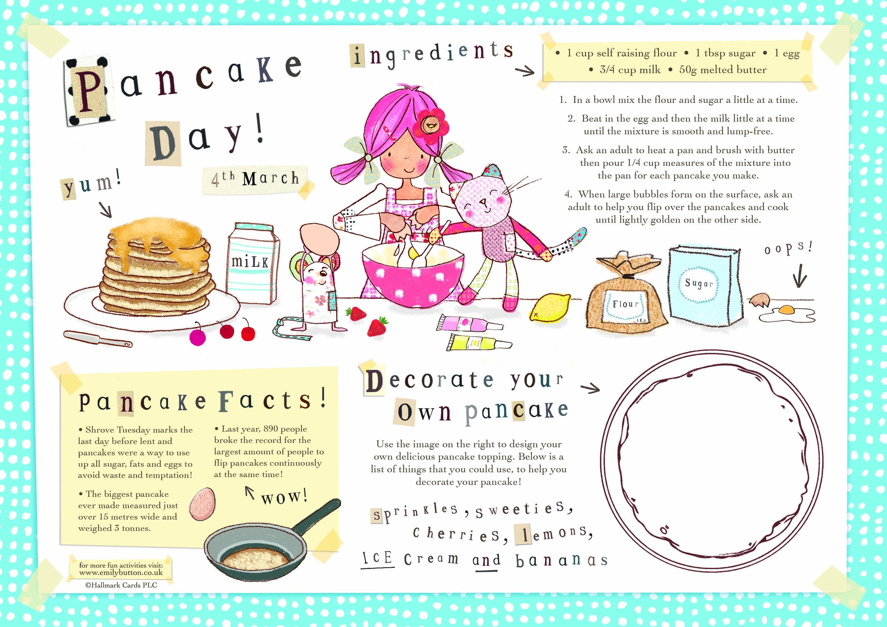 It S Pancake Day Emilybutton News 3