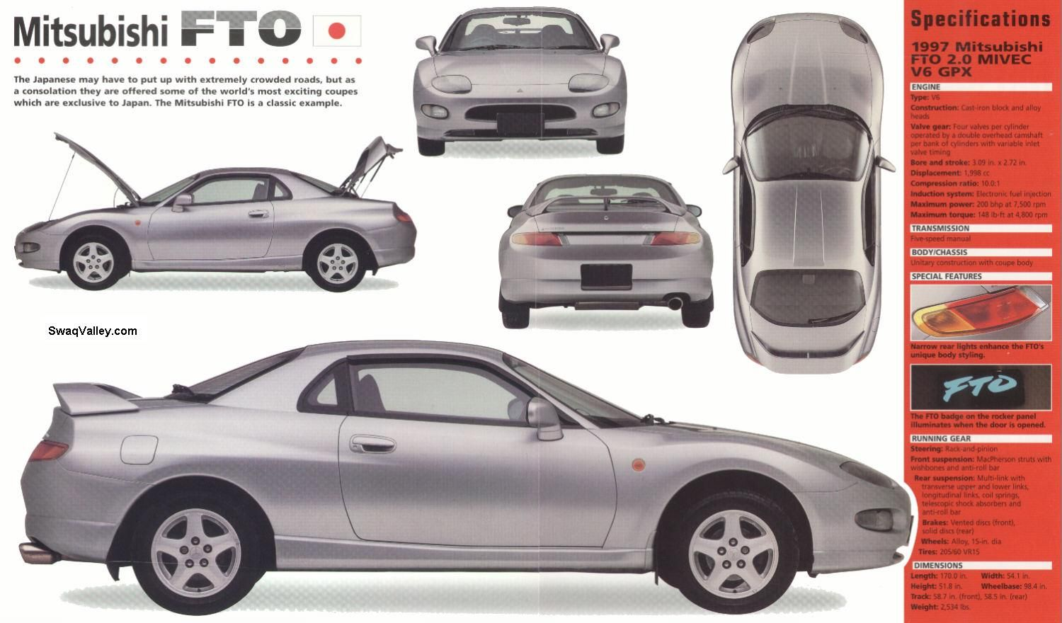 I miss this car, the '97 Mitsubishi FTO GPX