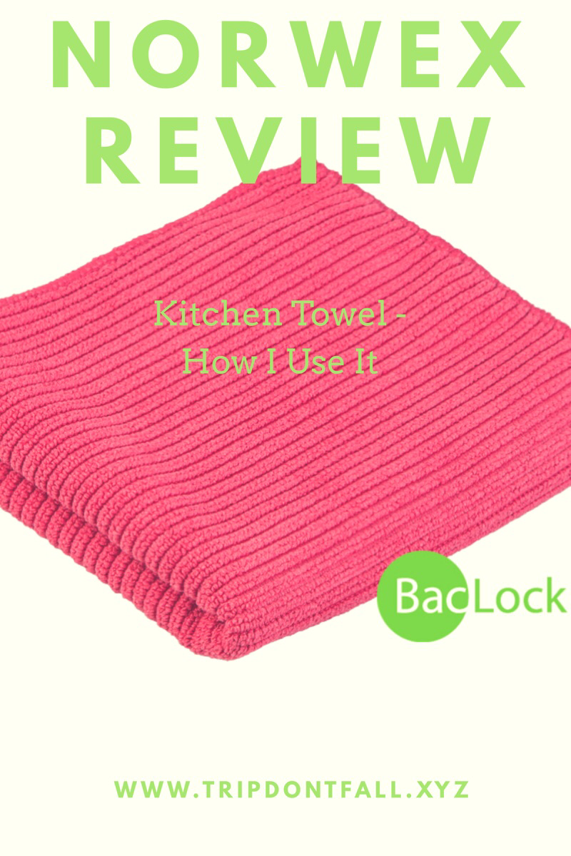 How I Use My Norwex Kitchen Towel Norwex Kitchen Towel Review