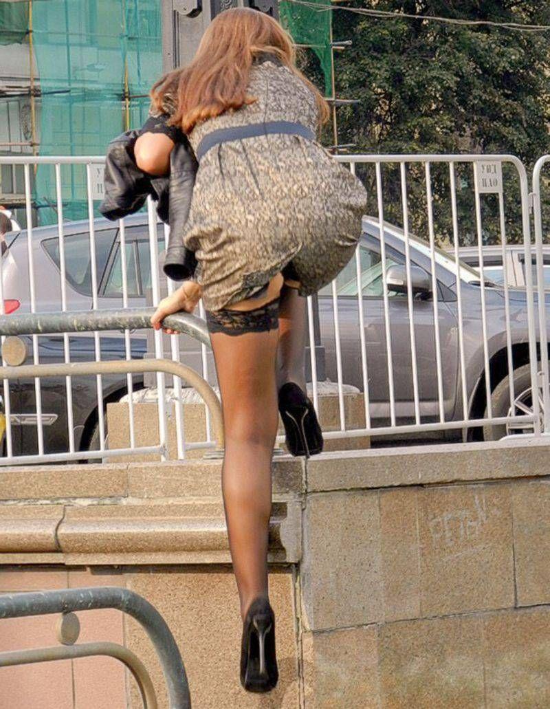 Hot Creepshots : Photo   Upskirt   Pinterest   Stockings ...