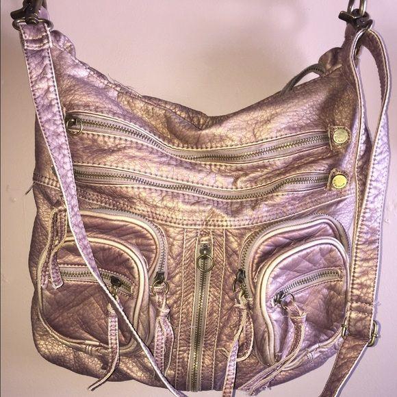 Big Buddha satchel Metallic brown/tan Big Buddha satchel bag. Lots of storage! Good condition. Big Buddha Bags Satchels