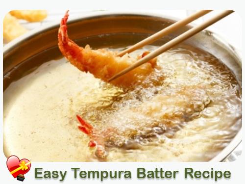 Easy Tempura Batter For Seafood Or Veggies Tempura