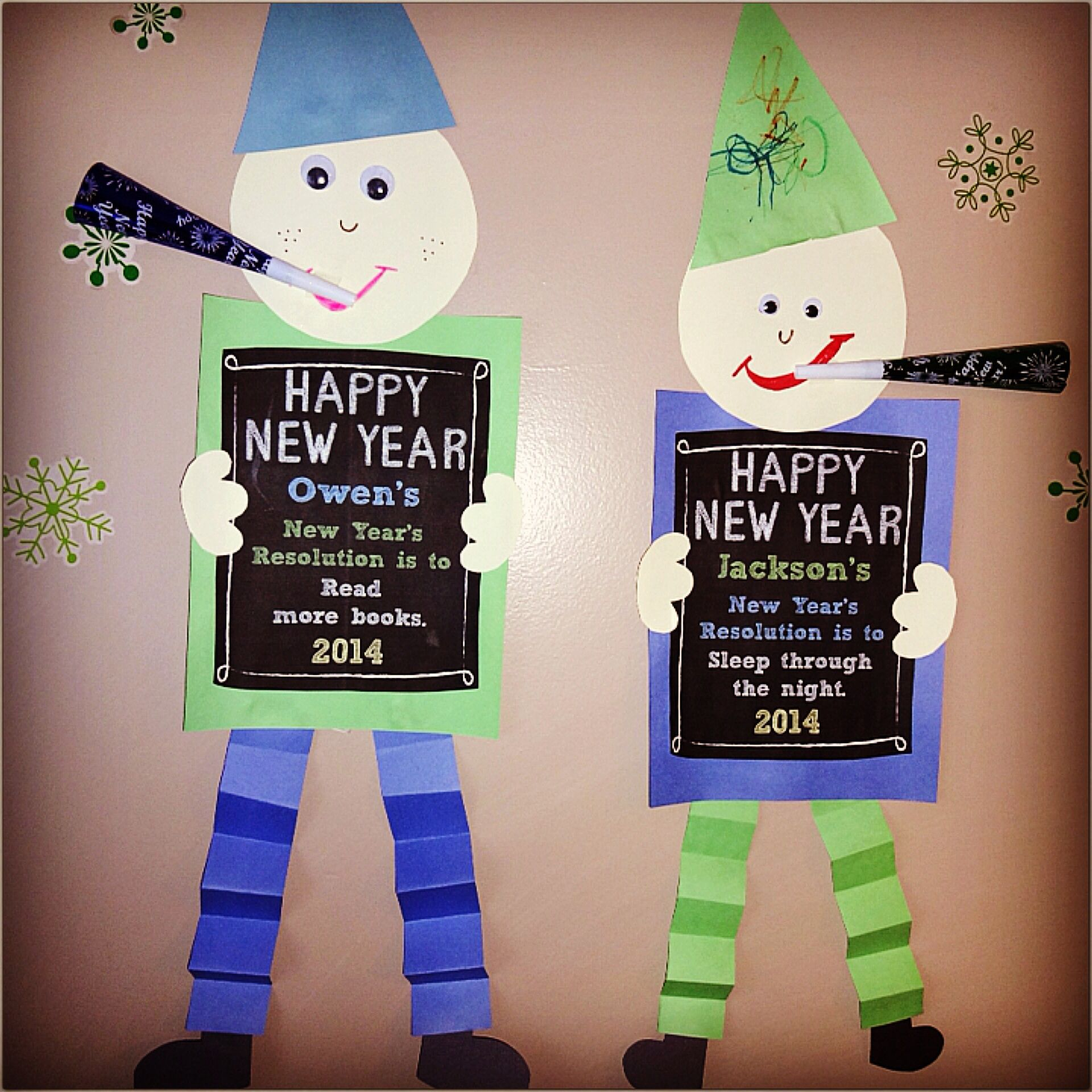 Happy New Year Craft! | Craft Ideas | New year's crafts ...