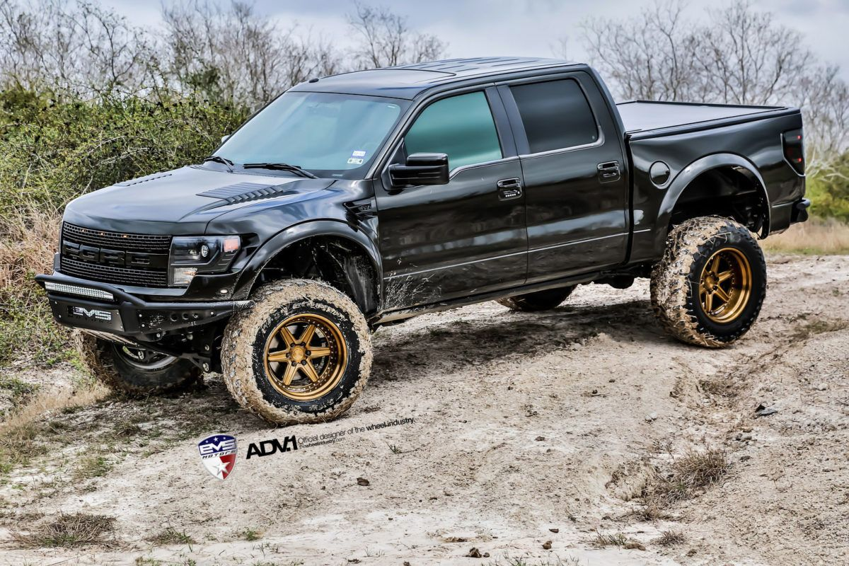 Black ford svt raptor adv6 trackfunction sl series