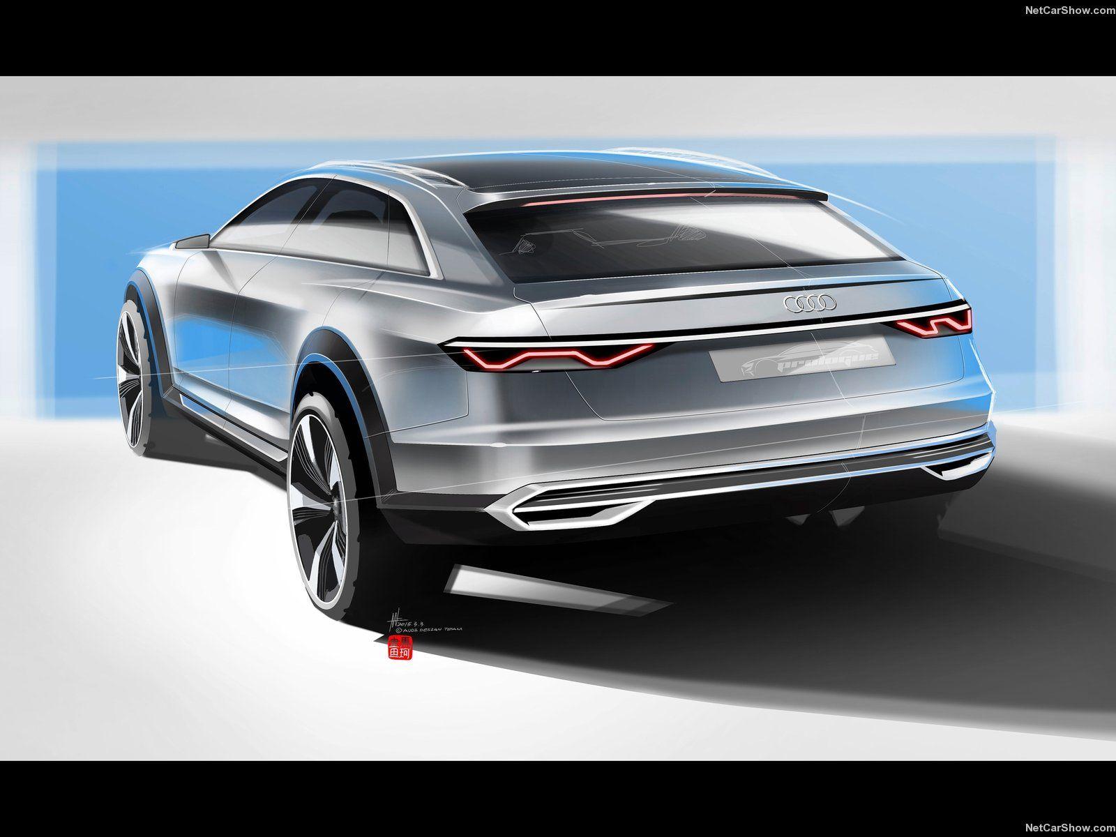Audi Prologue Allroad Concept Design Car Design Sketch