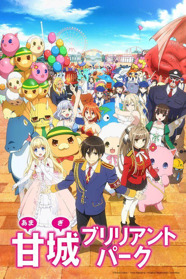 Amagi Brilliant Park /// Genres: Comedy, Magic