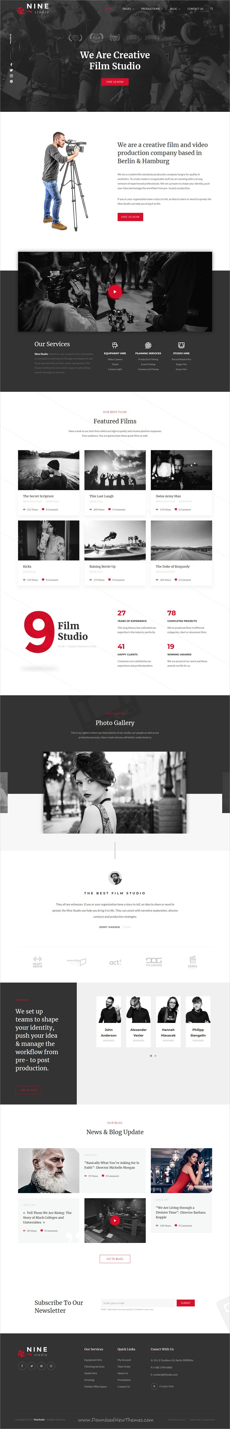 Nine studio is clean and modern design responsive html template for nine studio is clean and modern design responsive html template for creative agency corporation maxwellsz