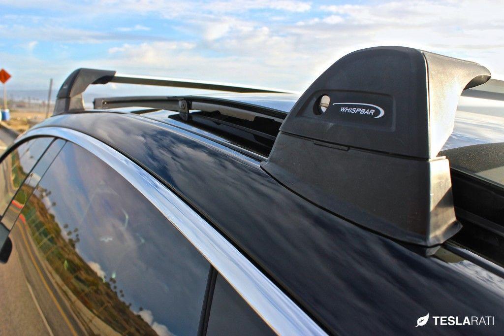 tesla model s roof rack system