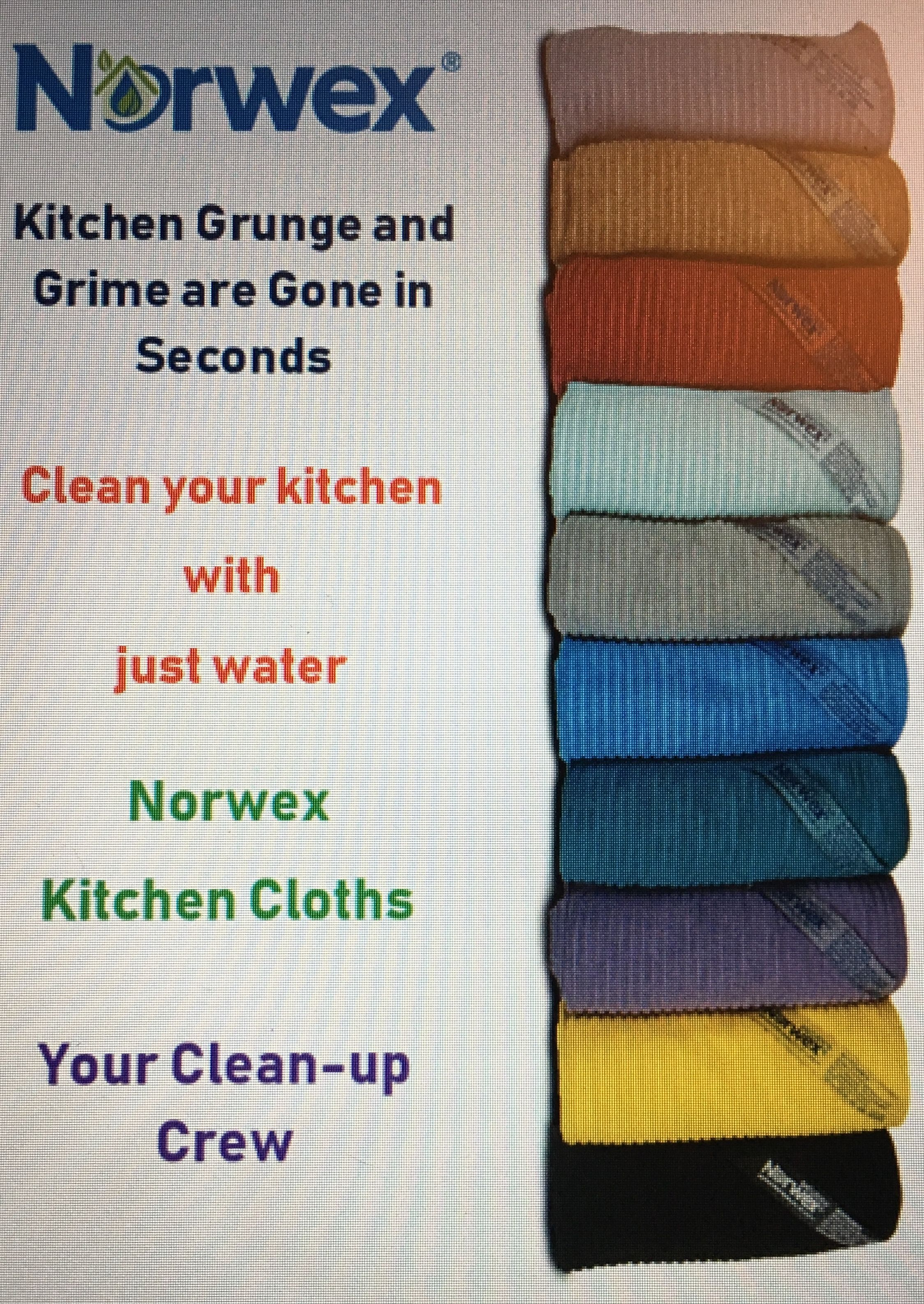 Kitchen Cloths Norwex Super Soft Absorbent And Fast Drying Dries Kitchen Counters And Dishes Quickly N Norwex Chemical Free Cleaning Norwex Microfiber