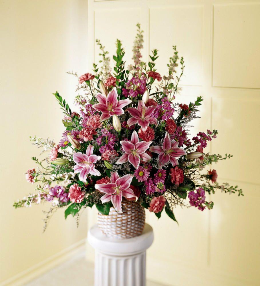 Flower Arrangement For Church Pulpit