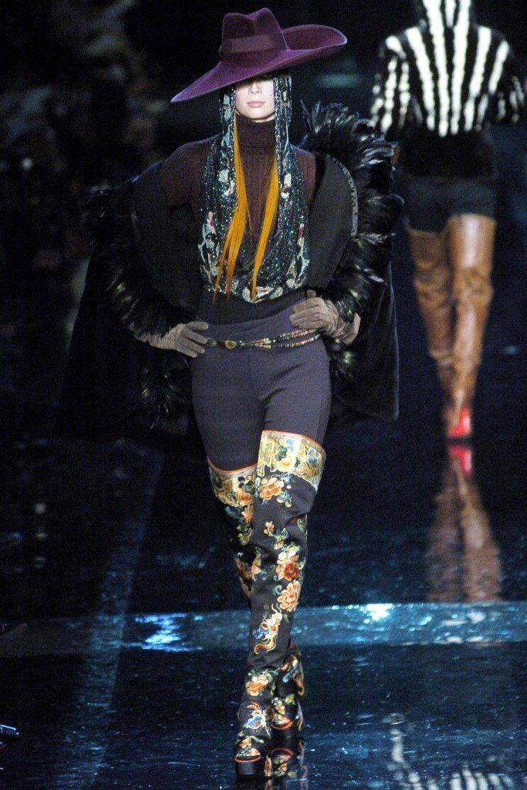Jean Paul Gaultier: Fall / Winter 2004 Haute Couture Paris: