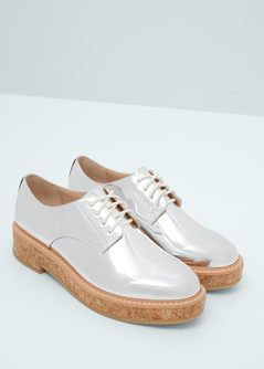 Zapato Oxford metalizado 50€