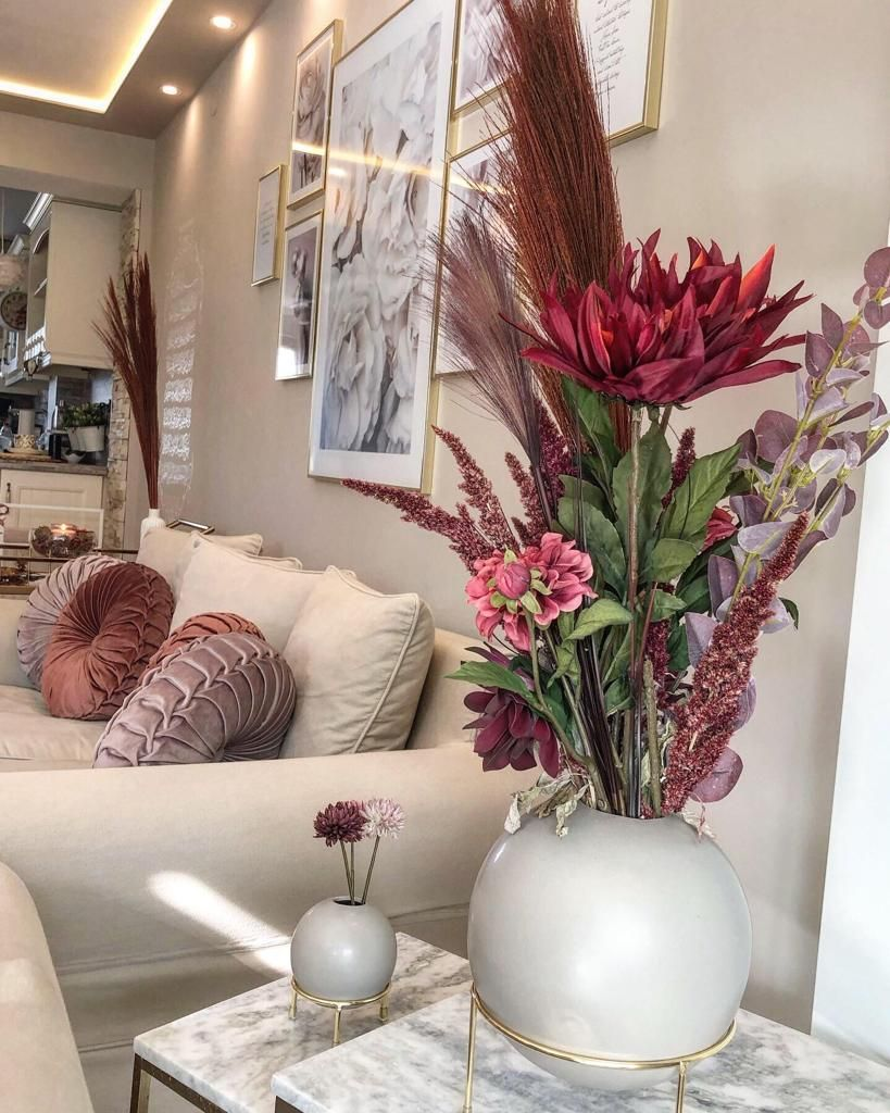 Schöne Herbstdekoidee von @daldals_life für Dein Wohnzimmer