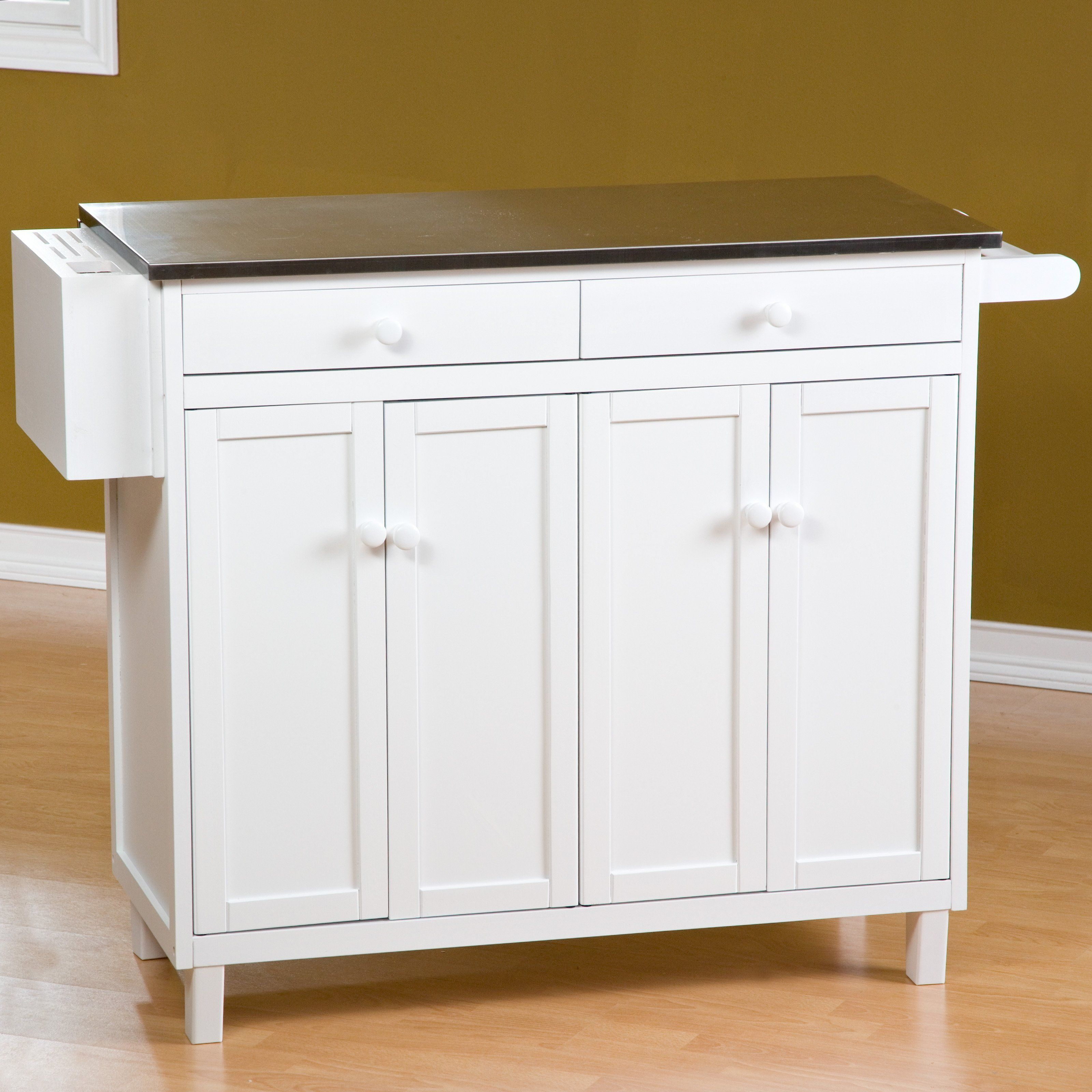 Have to have it. The Randall Stationary Kitchen Island with Optional Stools $399.98