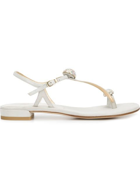 STUART WEITZMAN 'Ballsoffire' Sandals. #stuartweitzman #shoes #sandals