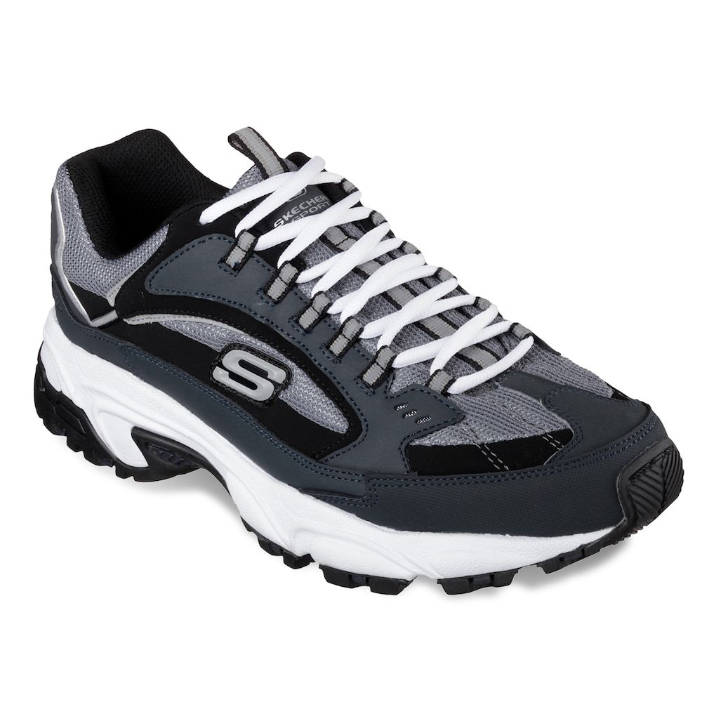 Skechers Track-Bucolo Hombre US 11 Negro Zapatos para Caminar q4OjRpzUqD
