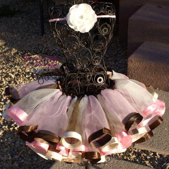 Custom Made Satin Ribbon Edged Tutu 5/6 7/8 by preciousbabygifts, $42.00