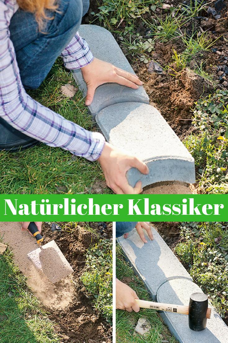 Rasenkante Alle Bilder Selbst De Rasenkanten Kantensteine Gartenarbeit