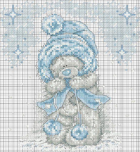 Схемы для вышивки bears