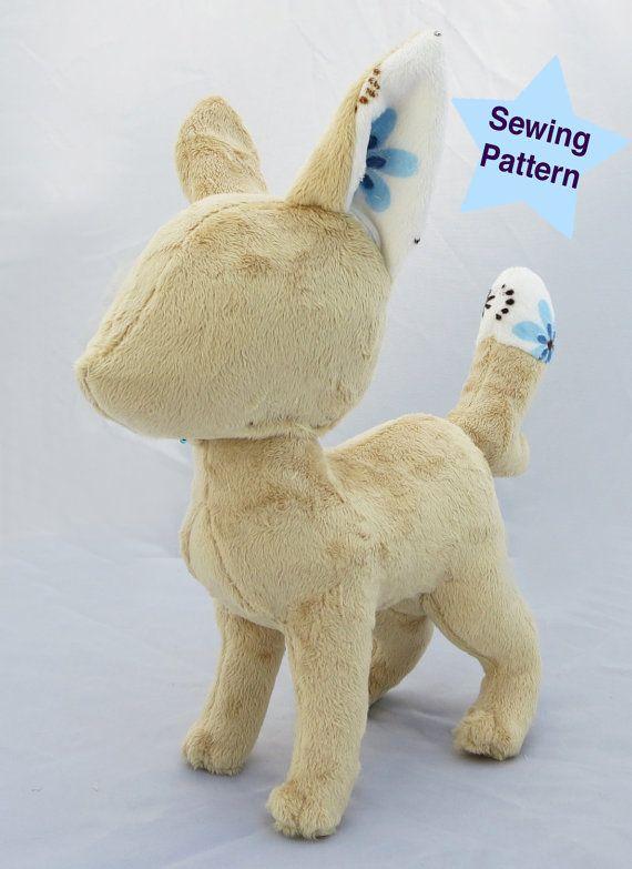 Fox Plush Sewing Pattern Plushie Pattern Digital Download PDF ...