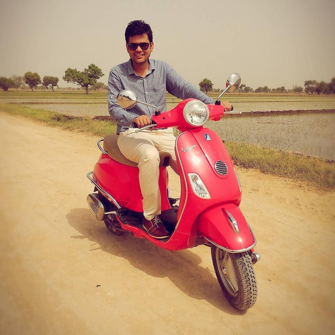 #Hayabusa #fun #village #scooty #red #farm #rajasthan #hanumangarh #official
