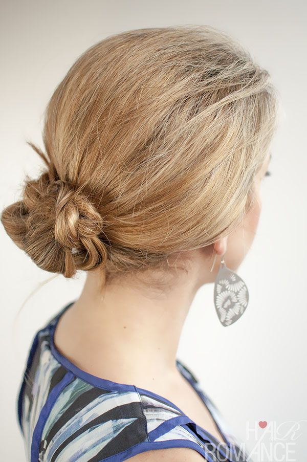 30 Buns in 30 Days - Day 13 - Braided bun #braidedbuns