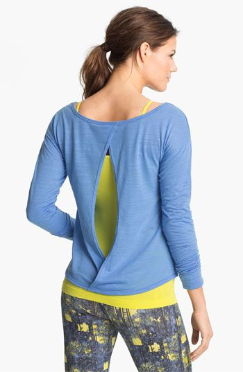 Unit-Y 'Derby' Back Keyhole Burnout Tee | Nordstrom