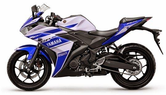 Yamaha R25 Full Blue White Color View Yamaha R25 Yamaha Yzf Yamaha