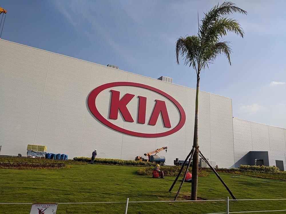 A Trip to Kia Motors India Plant in Penukonda, Andhra
