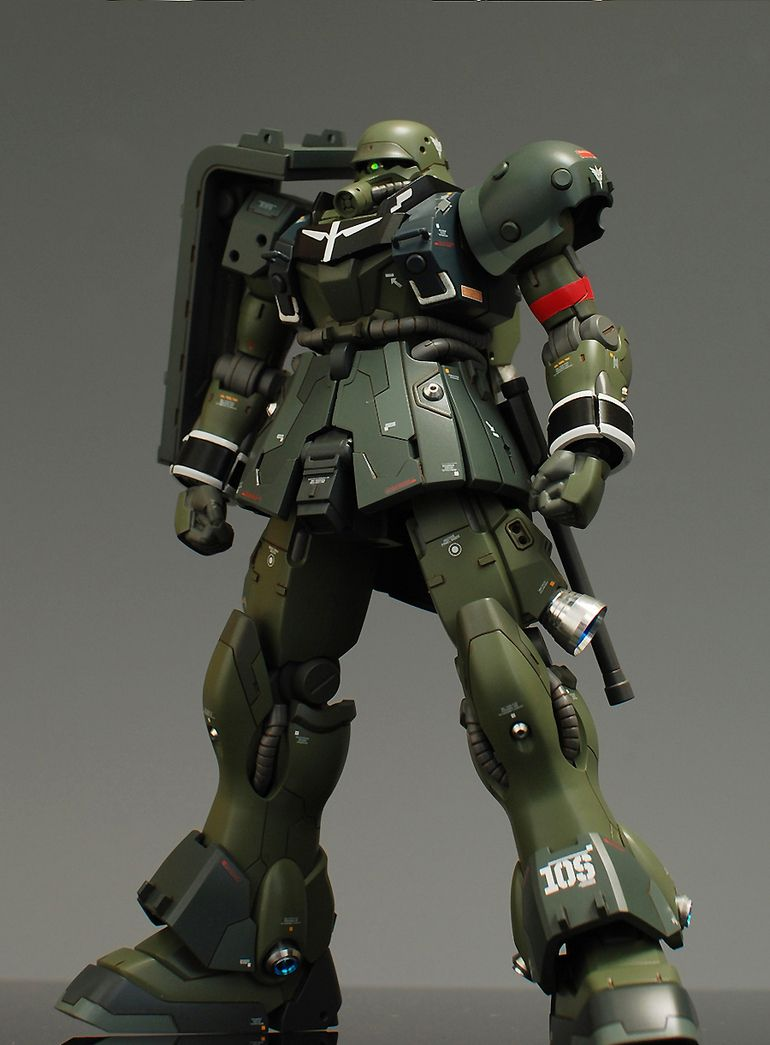 HGUC 1/144 AMS129 Geara Zulu Customized Build (With