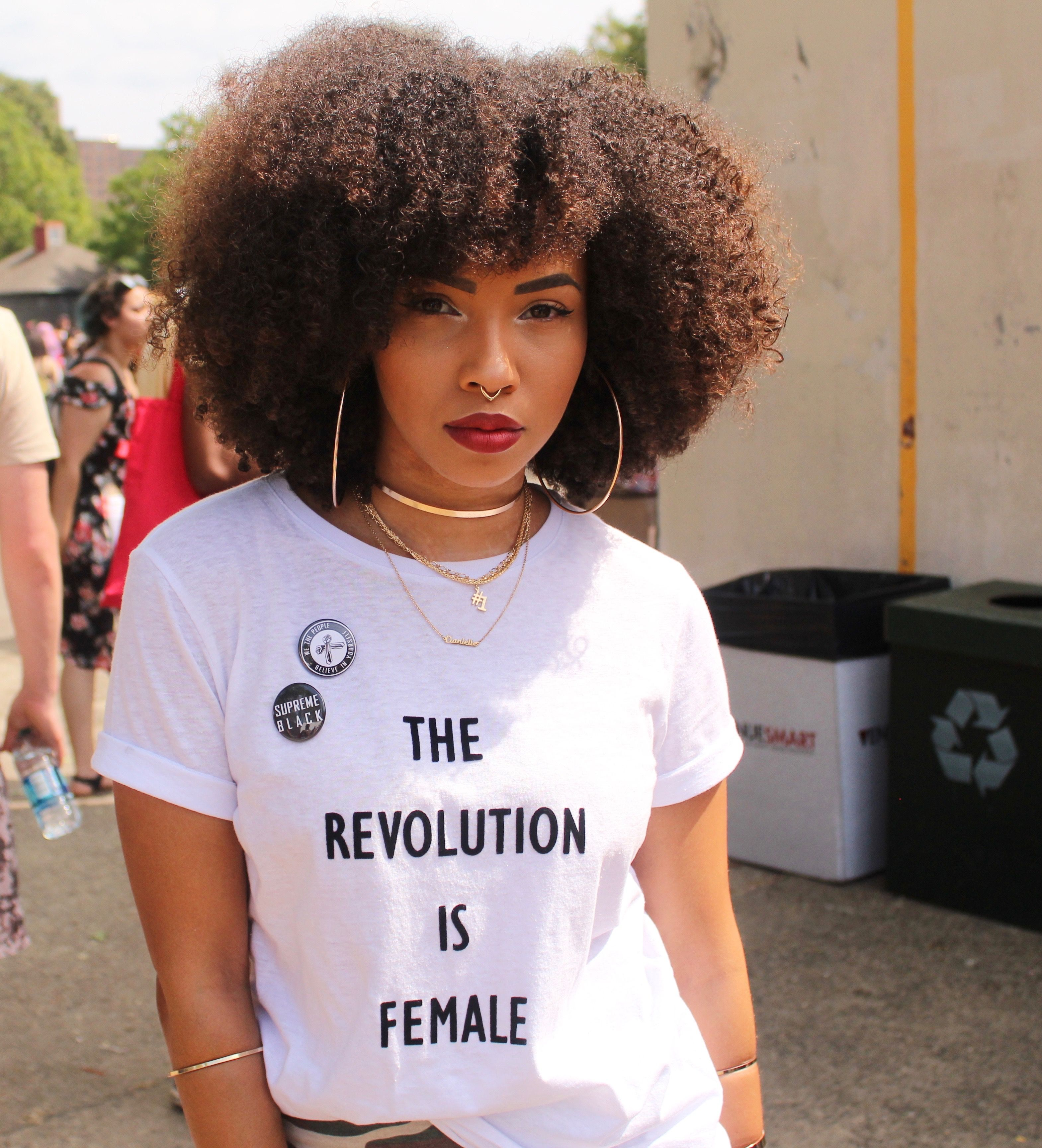 Afro Punk Fashion: Street Style Photos From Afro Punk Brooklyn 2017