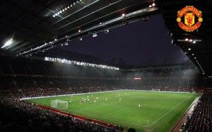 Old Trafford Manchester United Home Stadium Wallpaper