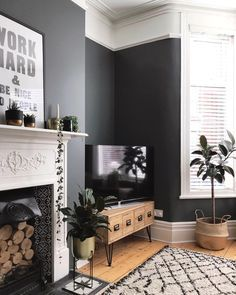on instagram  chappy friday everyone don   often sit the two seater sofa this side of room but as also decorating with dark colours grey lounge new house ideas in rh pinterest