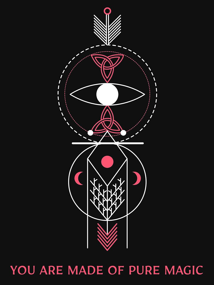 Pure Magic Cool Design For Esoteric Lovers Esoteric Funny Cool Love Spiritual Galaxy Totem In 2020 Pure Products Magic S Esoteric Art
