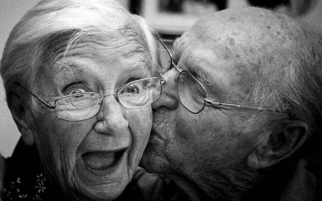 Heißes Altes Schwarzes Paar