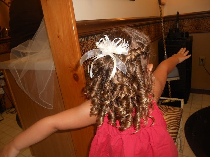 44++ Little girl hairstyles for weddings trends