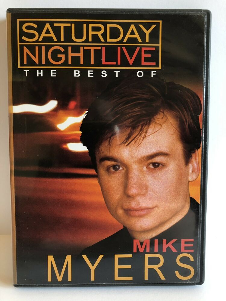 Best of Saturday Night Live Mike Myers DVD NBC in 2020