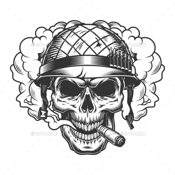 Skull In Smoke Cloud Skull Smoke Cloud Skull Skull Coloring Pages Skull Sketch