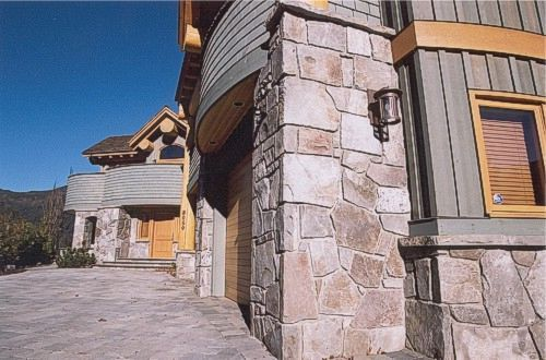 Exterior: Stone Work, Stone And Future House